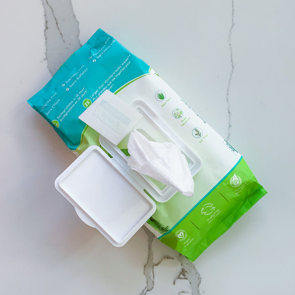 NEW PRODUCT | Bamboo Baby Instant Bath Towelettes
