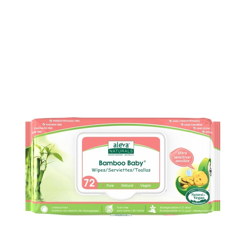 Bamboo Baby Sensitive Wipes