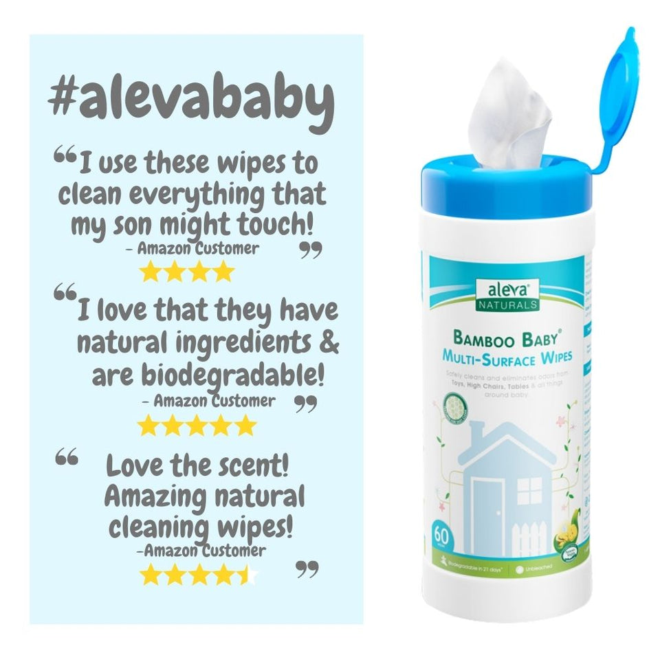 Bamboo Baby Multi-Surface Wipes