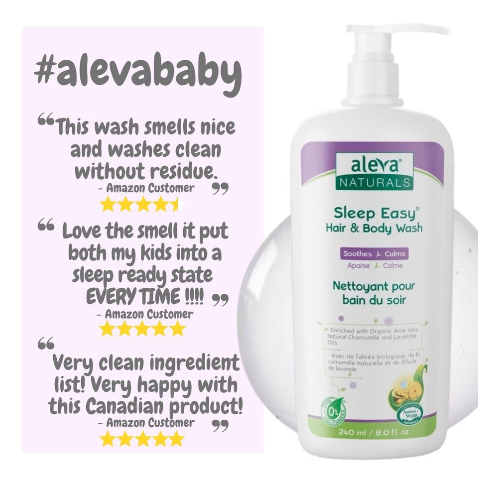 Sleep Easy Hair & Body Wash