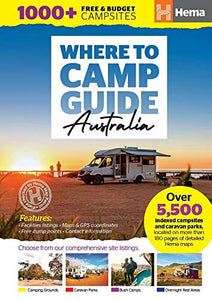 Where to Camp Guide Australia Hema