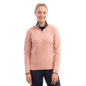 Kathmandu Ridge Women's 1/4 Zip Jumper Warm Fleece Hiking Pullover