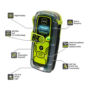 ACR ResQLink View - Buoyant GPS Personal Locator Beacon (Model PLB-425) - Programmed for Australia Registration