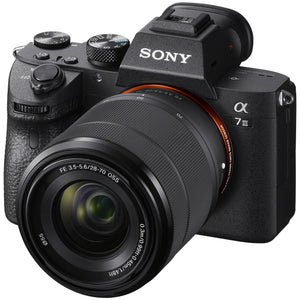 Sony a7 III Full-Frame Mirrorless Interchangeable-Lens Camera with 28-70mm Lens