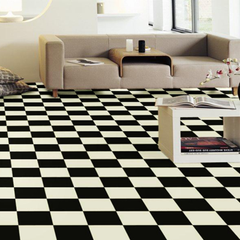 Gerflor Damier Black & White Super Solar Vinyl