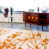 IndiB - Branches Orange Rug