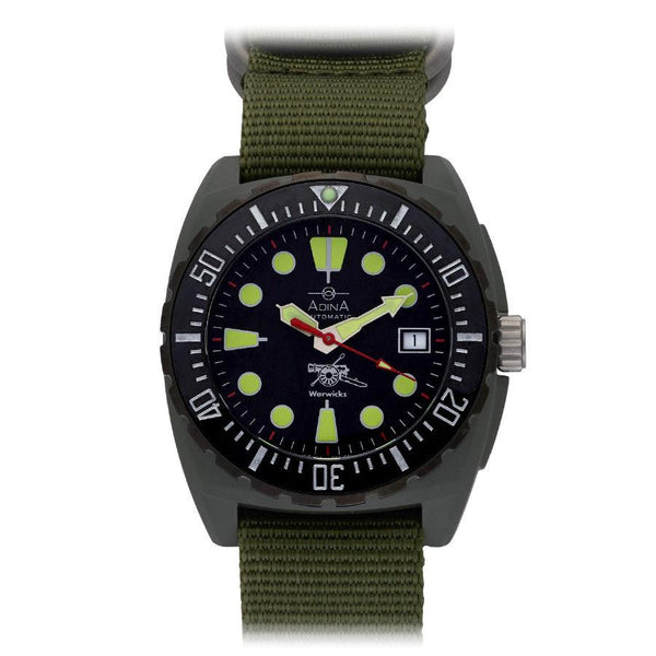 Adina Warwick Firearms Mil Spec Edition Watch Ct115 (Jungle)