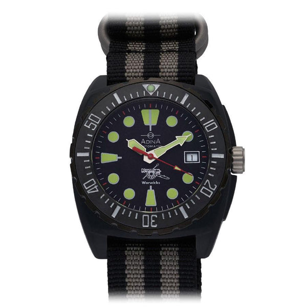 Adina Warwick Firearms Mil Spec Edition Watch Ct115 (Midnight)