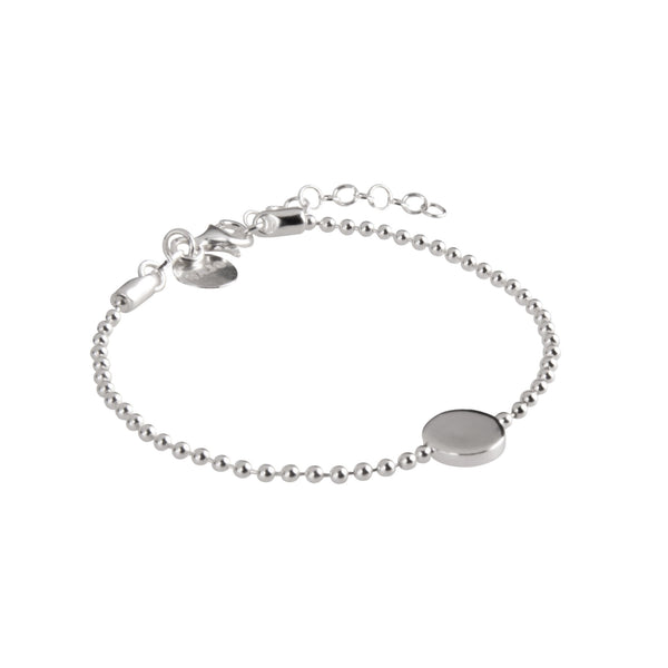 Najo Sterling Silver Polly Disc Bracelet