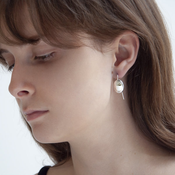 Najo Sterling Silver Sleeping Beauty Earring