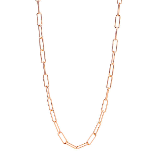 Najo Vista Chain Necklace Rose Gold  (60cm)