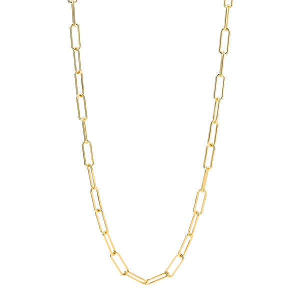 Najo Vista Chain Yellow Gold Necklace (60cm)