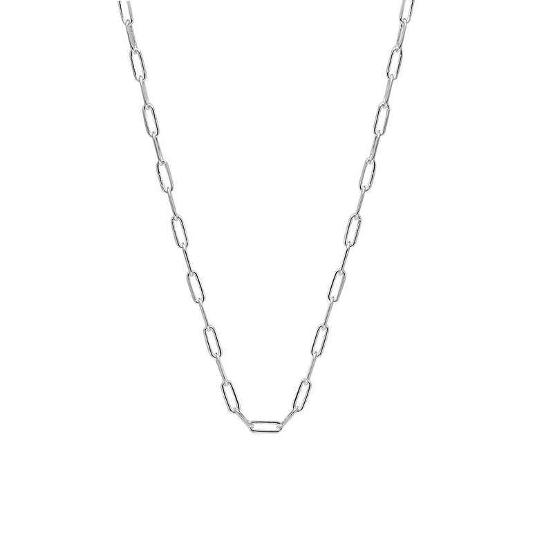 Najo Sterling Silver Small Vista Chain Necklace
