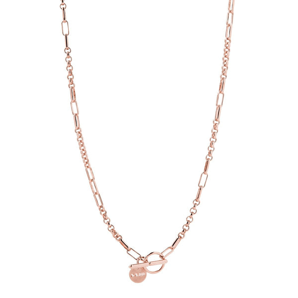 Najo York Necklace Rose Gold