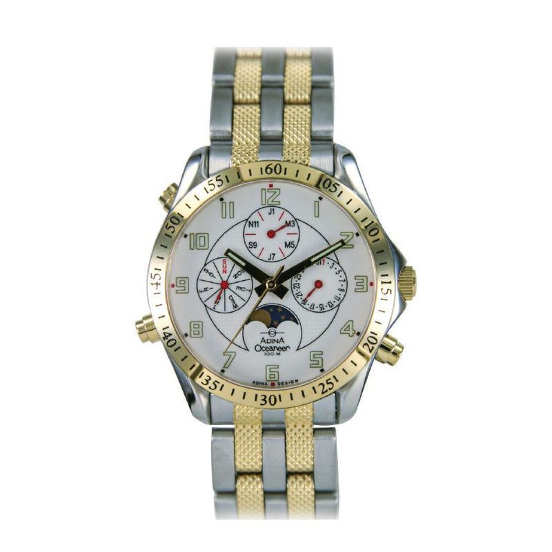 Adina Oceaneer Chronograph Sports Watch Nk139 T1Fb