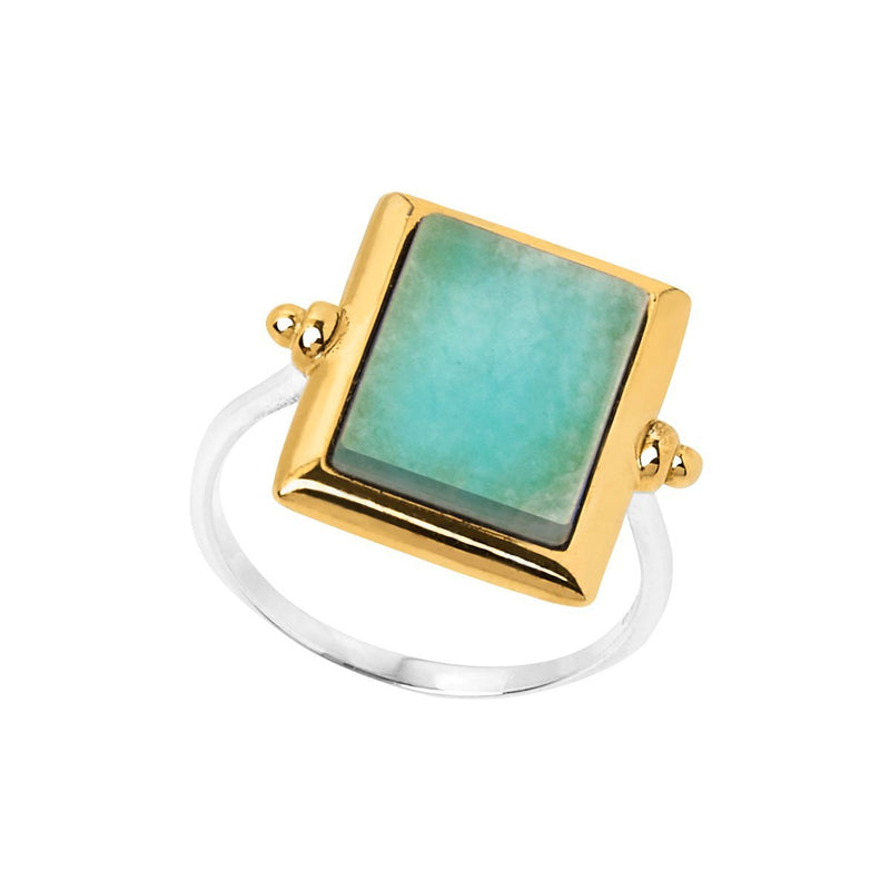 Najo Josephine Amazonite Ring