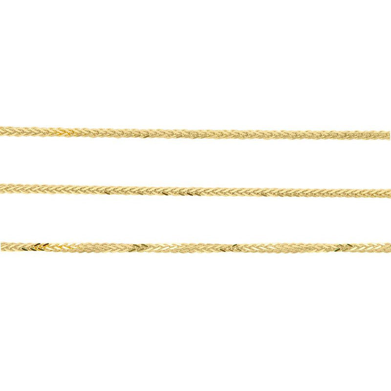 Wheat Chain in 9ct Yellow Gold
