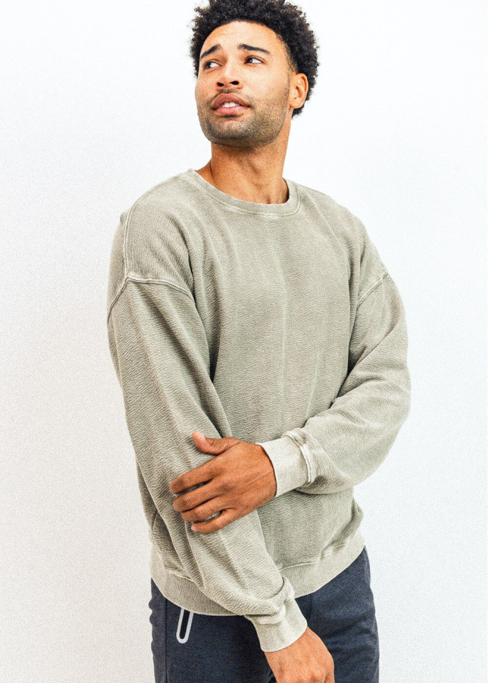 Cotton Jacquard Pullover