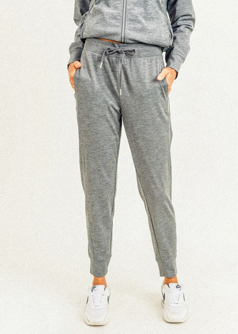 Side-Paneled Cuffed Joggers