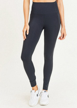 Waist-Shaper Highwaist Leggings with Pockets