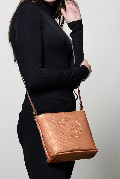 Women's Copper Crossbody Bag