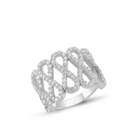 Women's Infinity Design Silver Ring