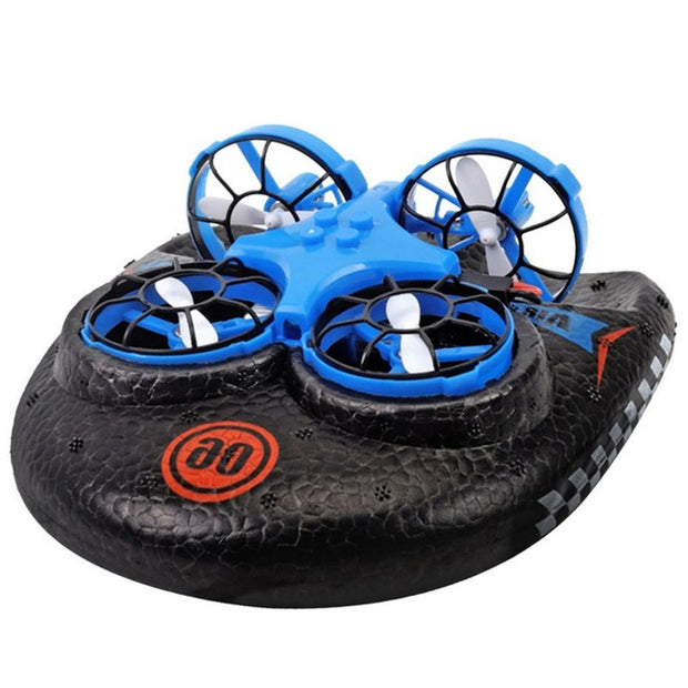 Water Land And Air Four-Axis Hovercraft Mini RC Drone