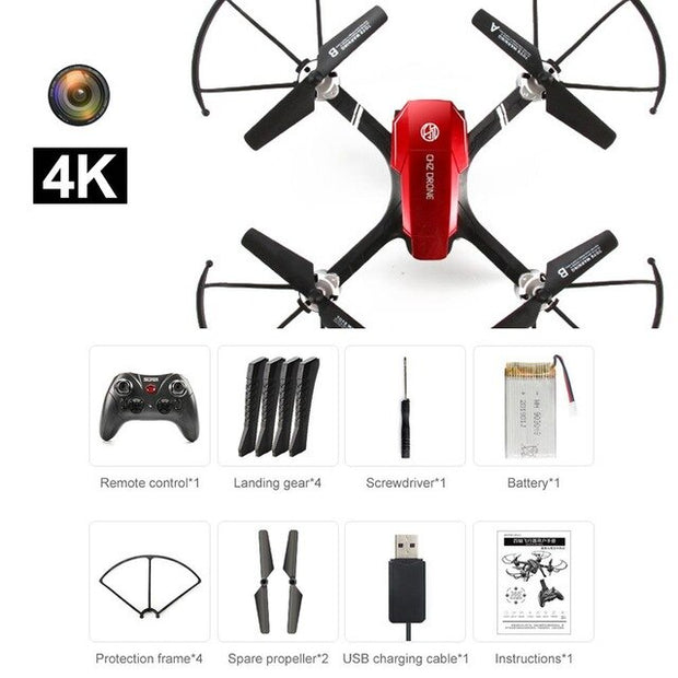 4K HD Drop Resistant Professional Quadcopter Drone