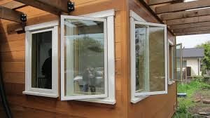 out swinging casement window type in home