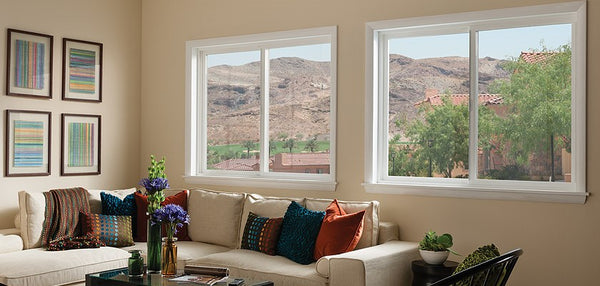 Sliding window type in a home