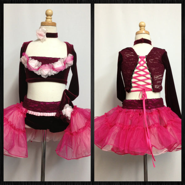 Outstanding Musical Theater Jazz Costume Vogue
