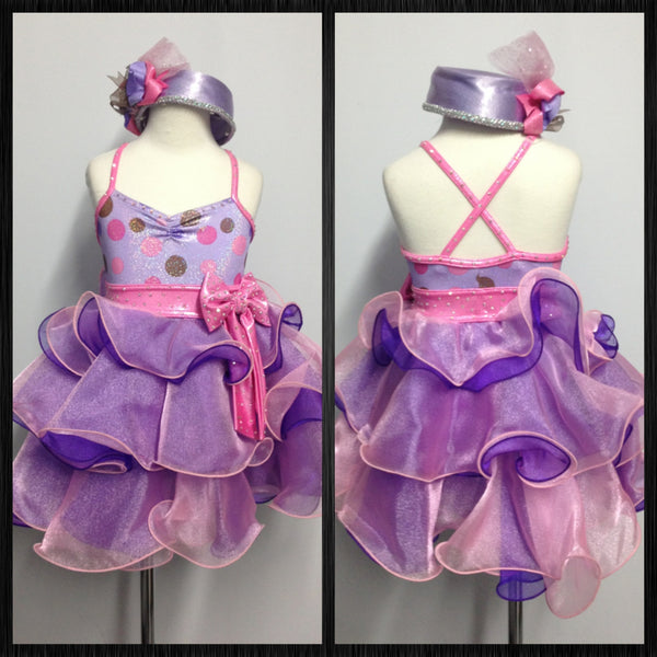 Child Small Tap Costume Dress