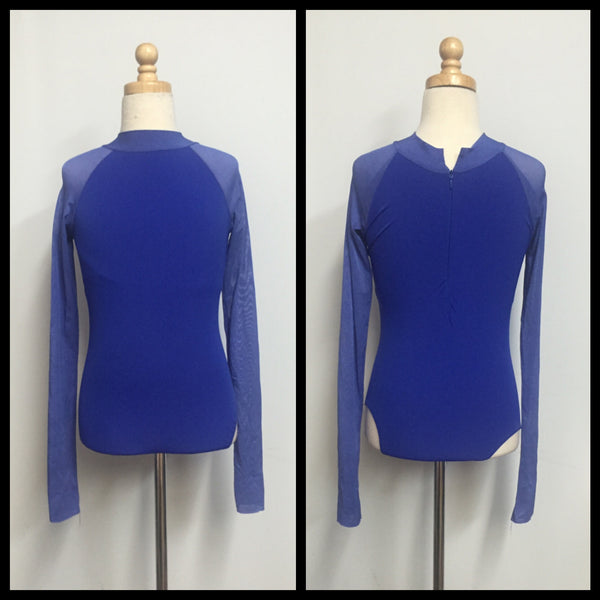 Blue Leotard Custom Made