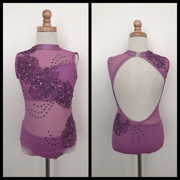 New Lavender Leotard Costume