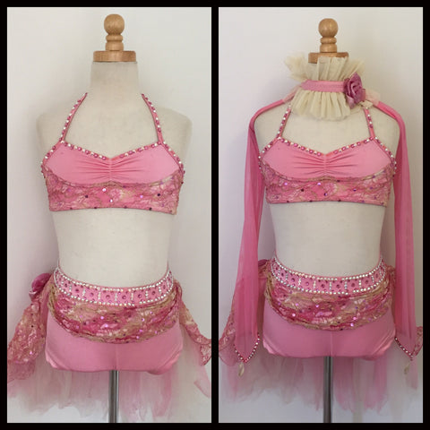 Pink Lyrical Costume