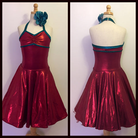 Competition Dance Costume Dress