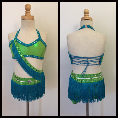 Jazz Latin Inspired Dance Costume