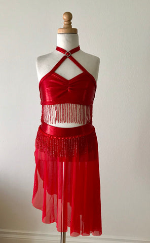 Red Dance Costume