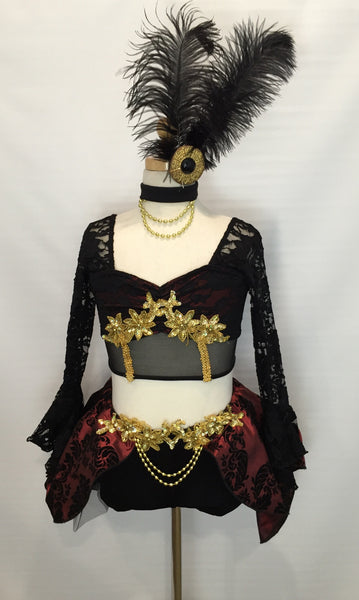 Outstanding Jazz Musical Theater Competition Dance Costume