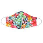 Youth Multi-color Butterfly Face Mask