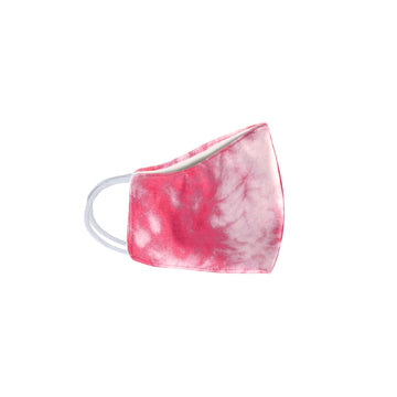 Youth Pink Tie Dye Face Mask