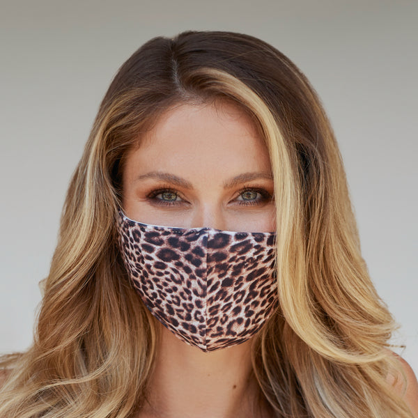 Leopard Pattern Face Mask