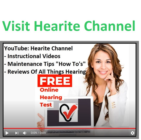 Hearite Channel: Tutorials, Hearing Aid Reviews, Hearing Aid How To's, Maintenance