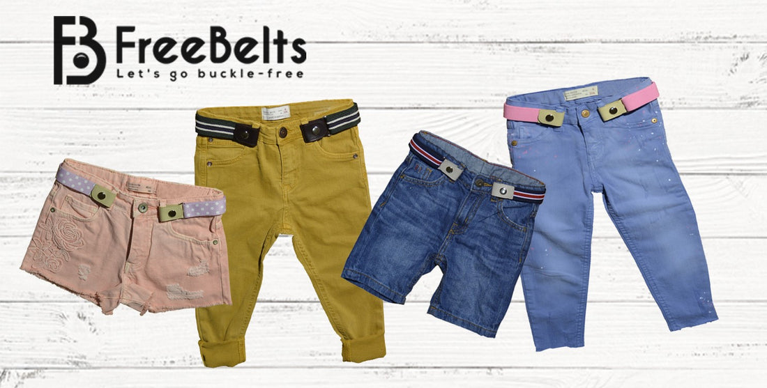The Buckle-Free Belt Brand Launches Kids Line