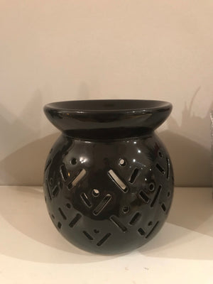 Black Tribal Burner