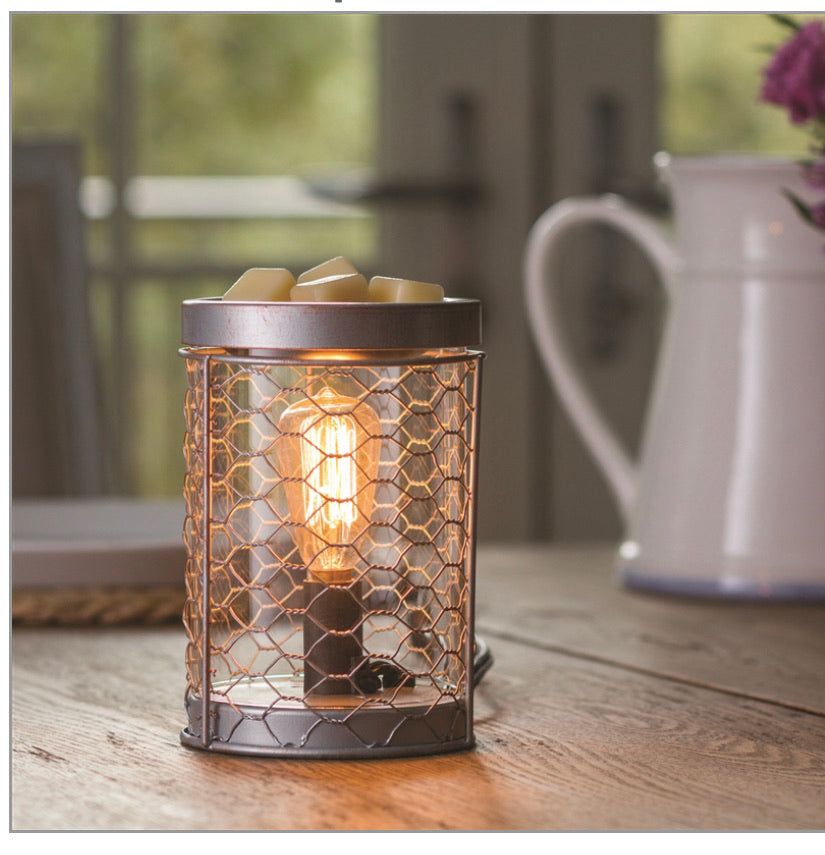 Retro Electric Wax Melter - Silver