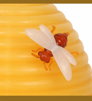 Beeswax Hive Shaped Candle
