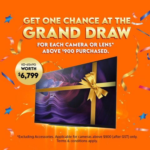Get One Chance at the Grand Draw
