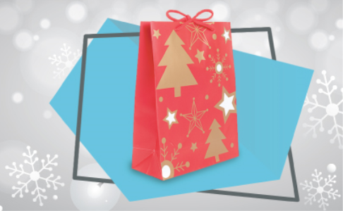 Pre-packed mystery gift set