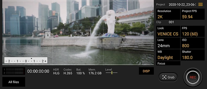 Xperia 1 II's Cinema Pro with easy user interface